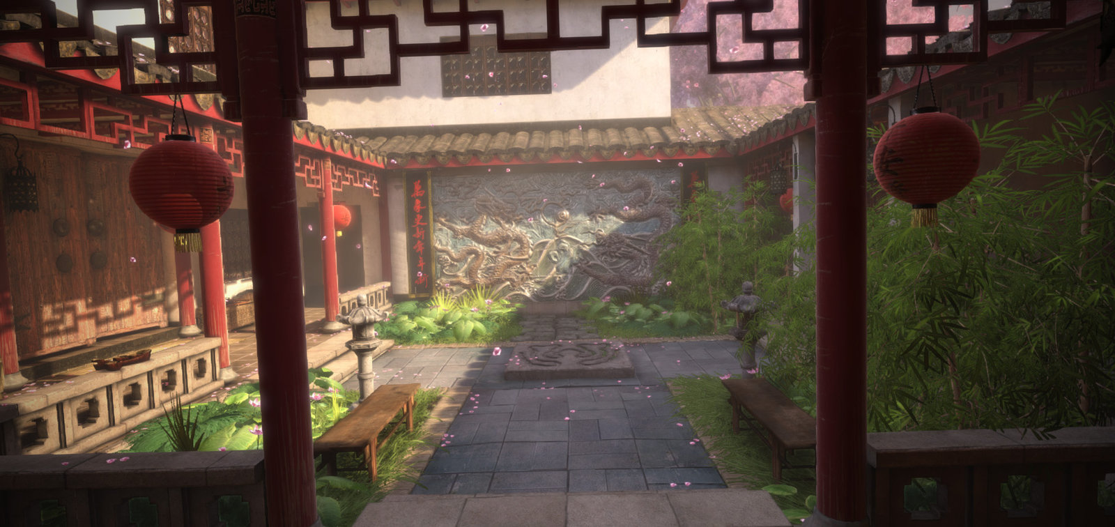Chinese Courtyard