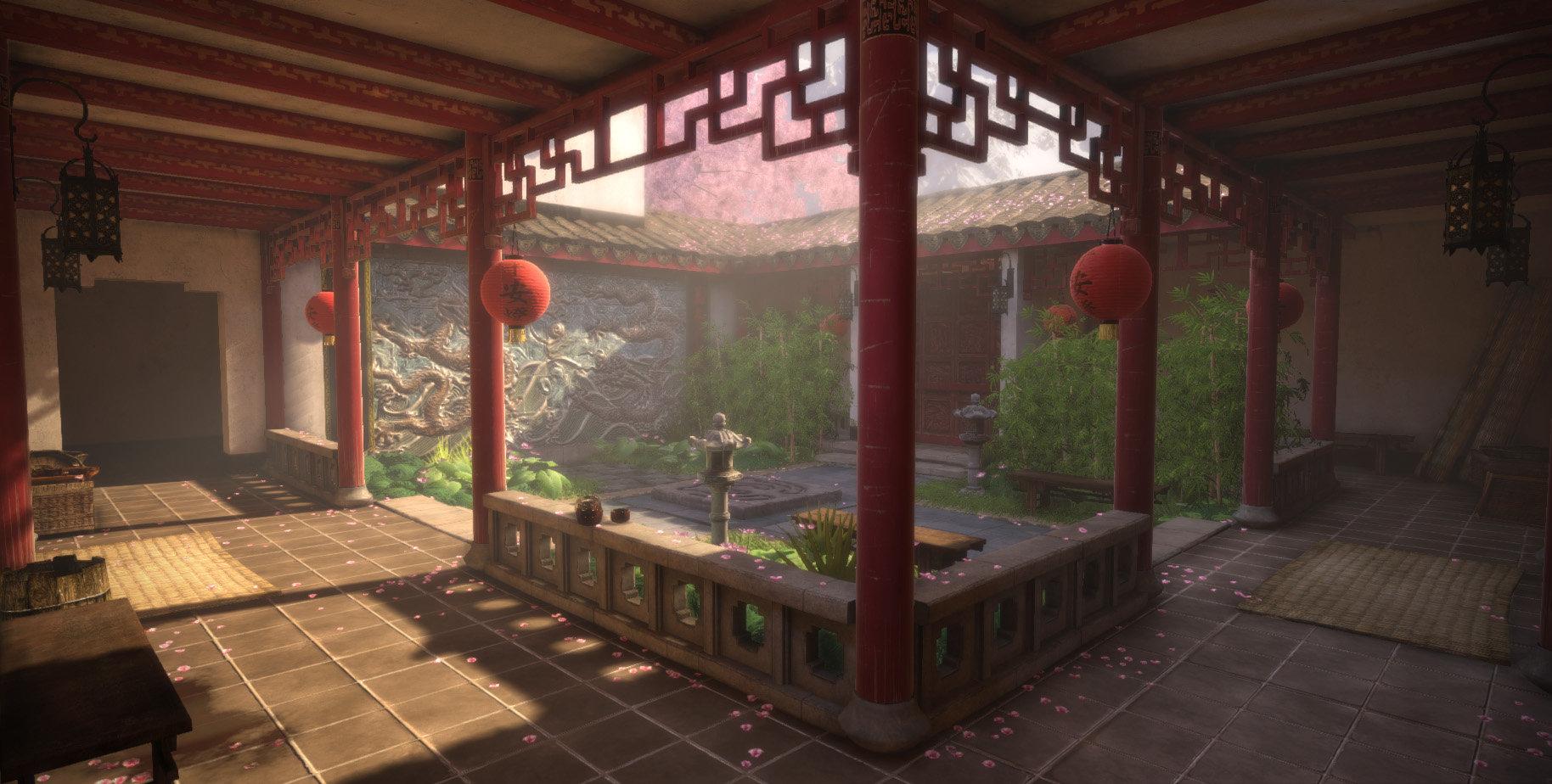 Jeff severson chinese courtyard day 09