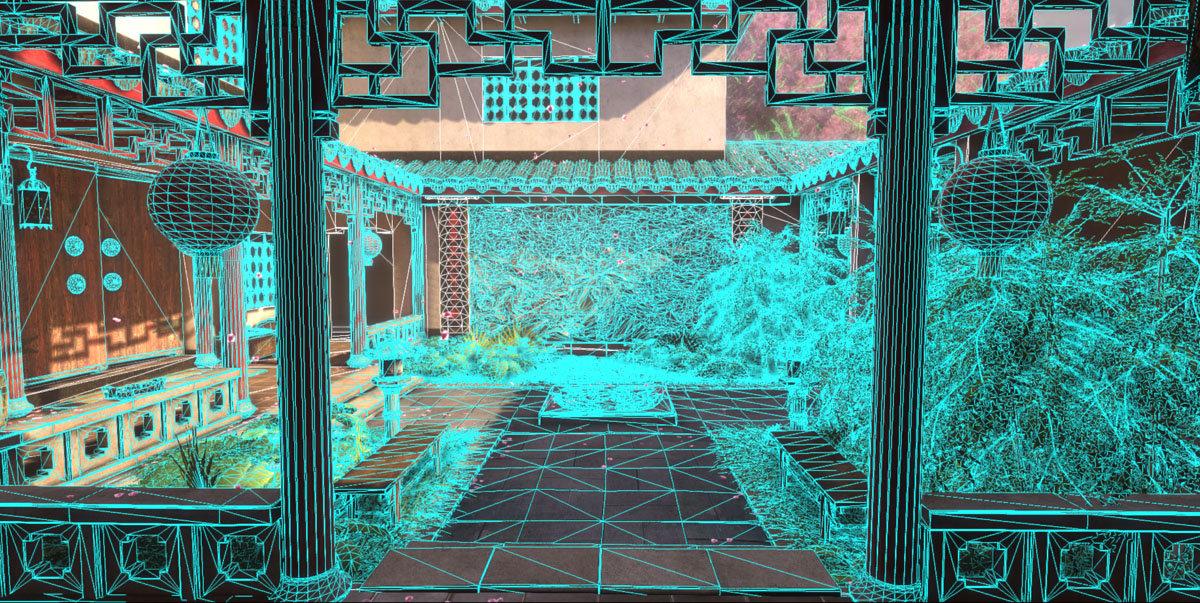 Jeff severson chinese courtyard day 12