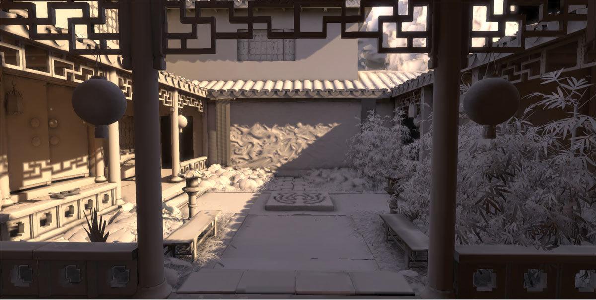 Jeff severson chinese courtyard day 13