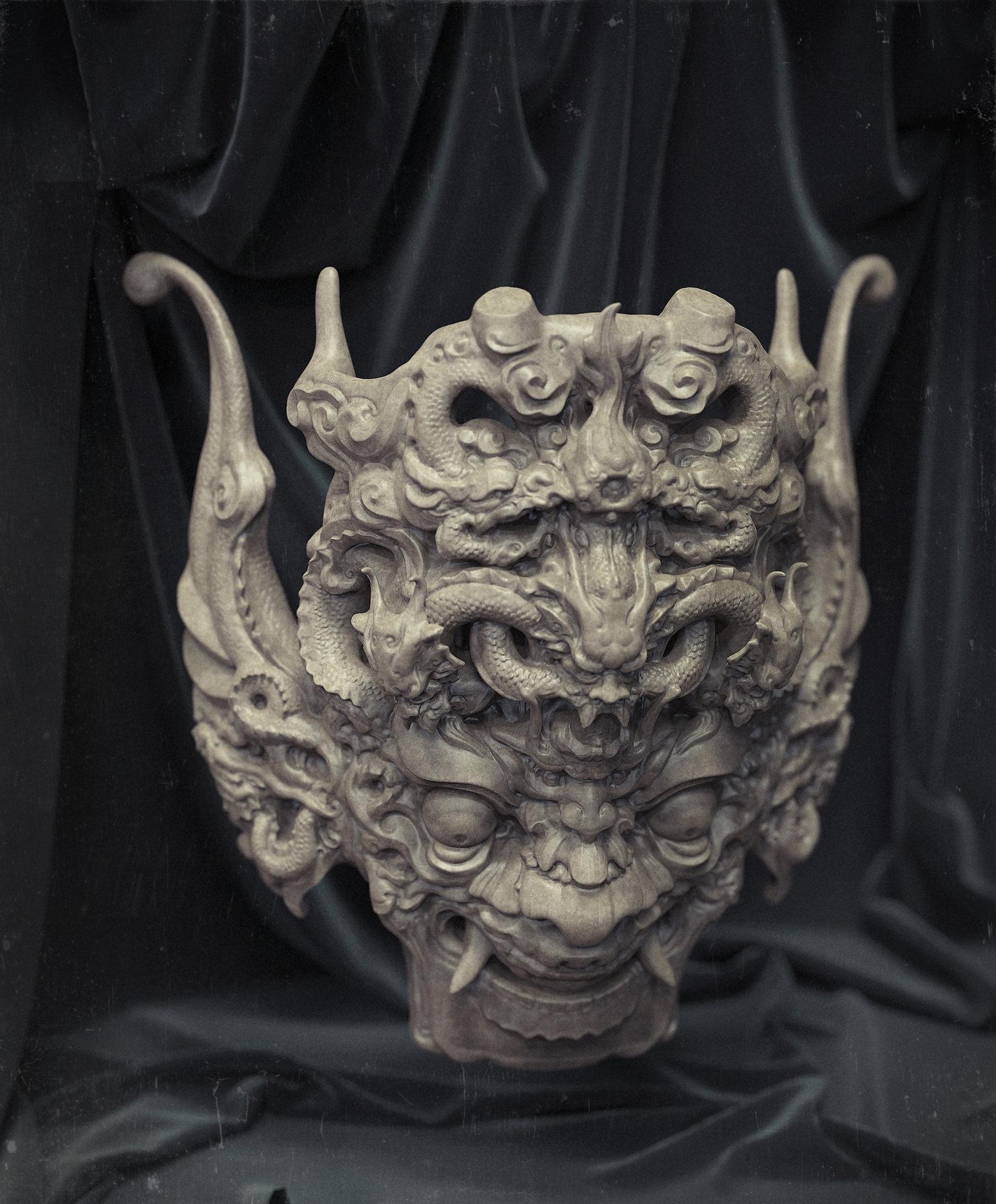 Zhelong xu mask