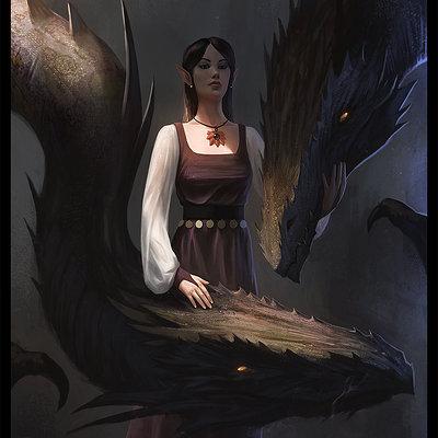 Thomas wievegg dragon lady