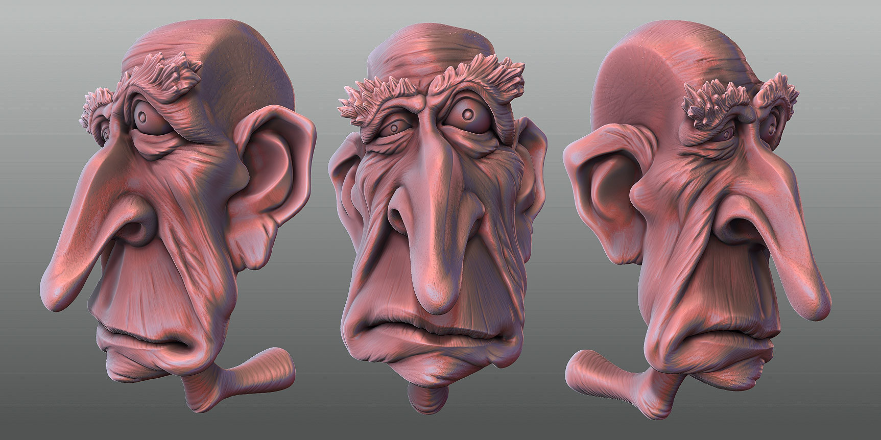 Oleg memukhin old spiderman head by monkibase d32054p