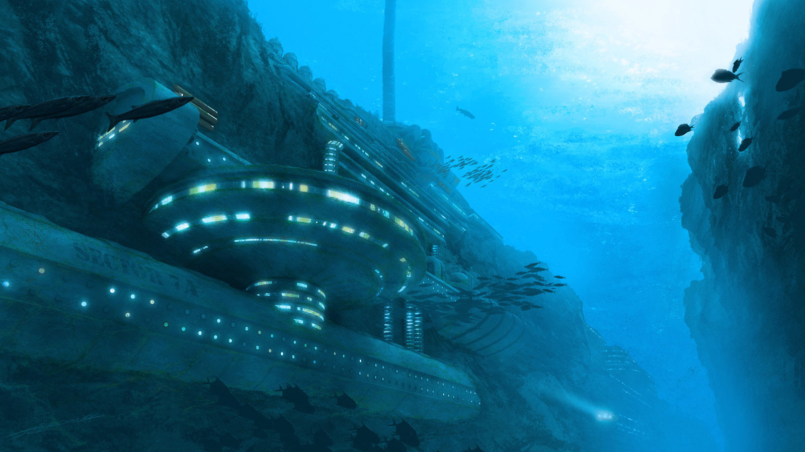 Jacek irzykowski underwater reasearch facility