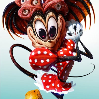 Dan luvisi minnie by danluvisiart d7j74vt