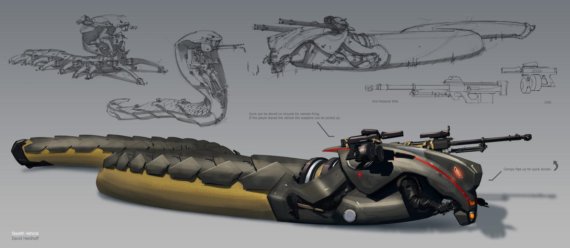 Sci Fi Vehicle Concept Art