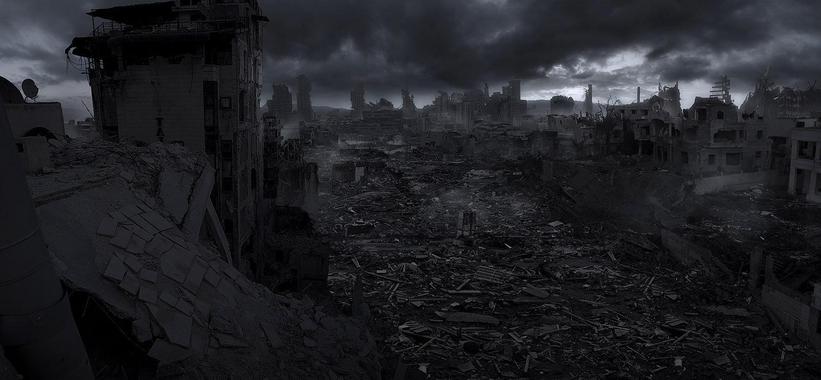 Jacek irzykowski post apocalyptic world