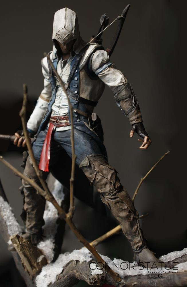 Chao Guo Assassin S Creed Statue Painted One