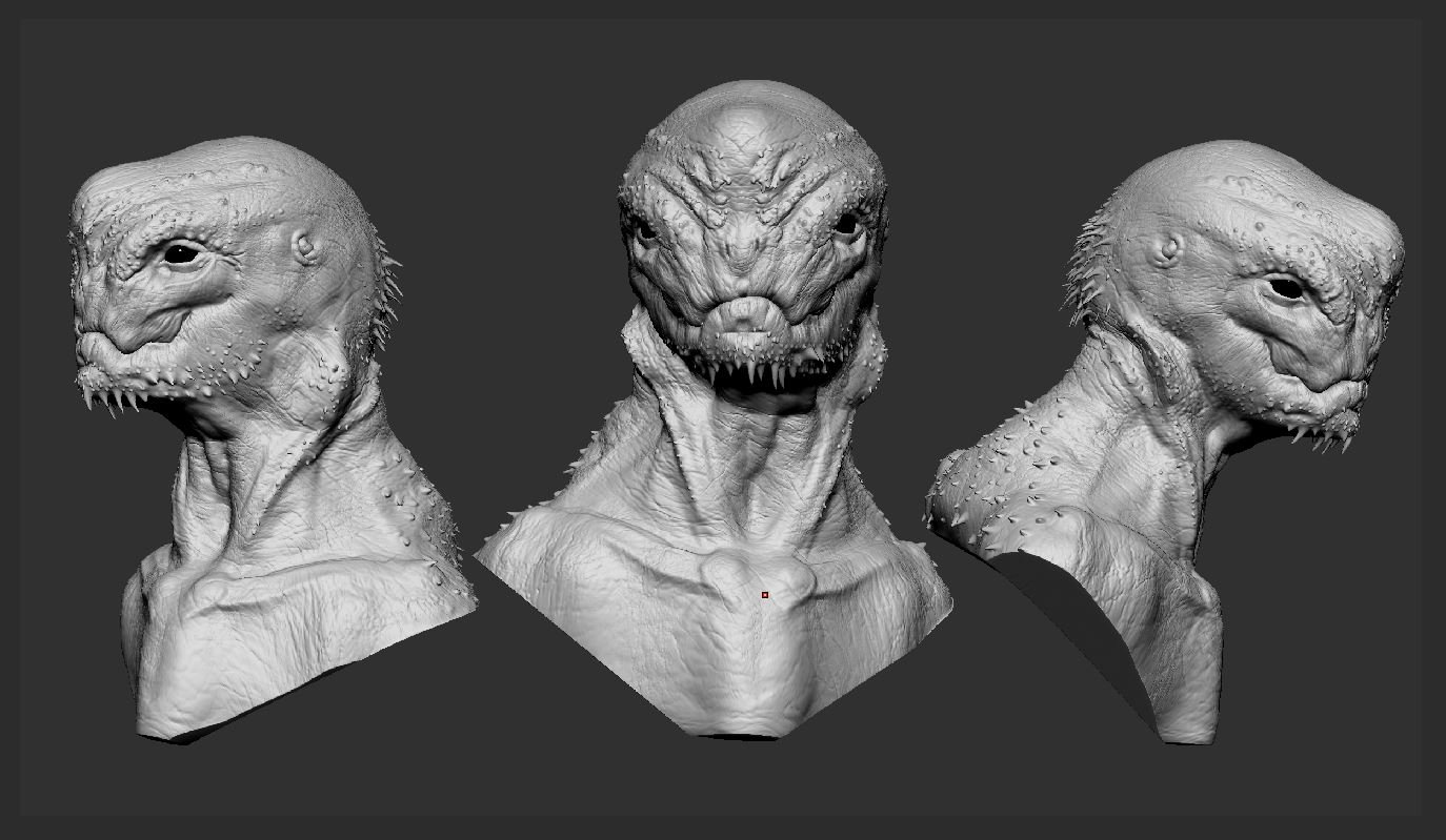 Timo peter alien 3heads
