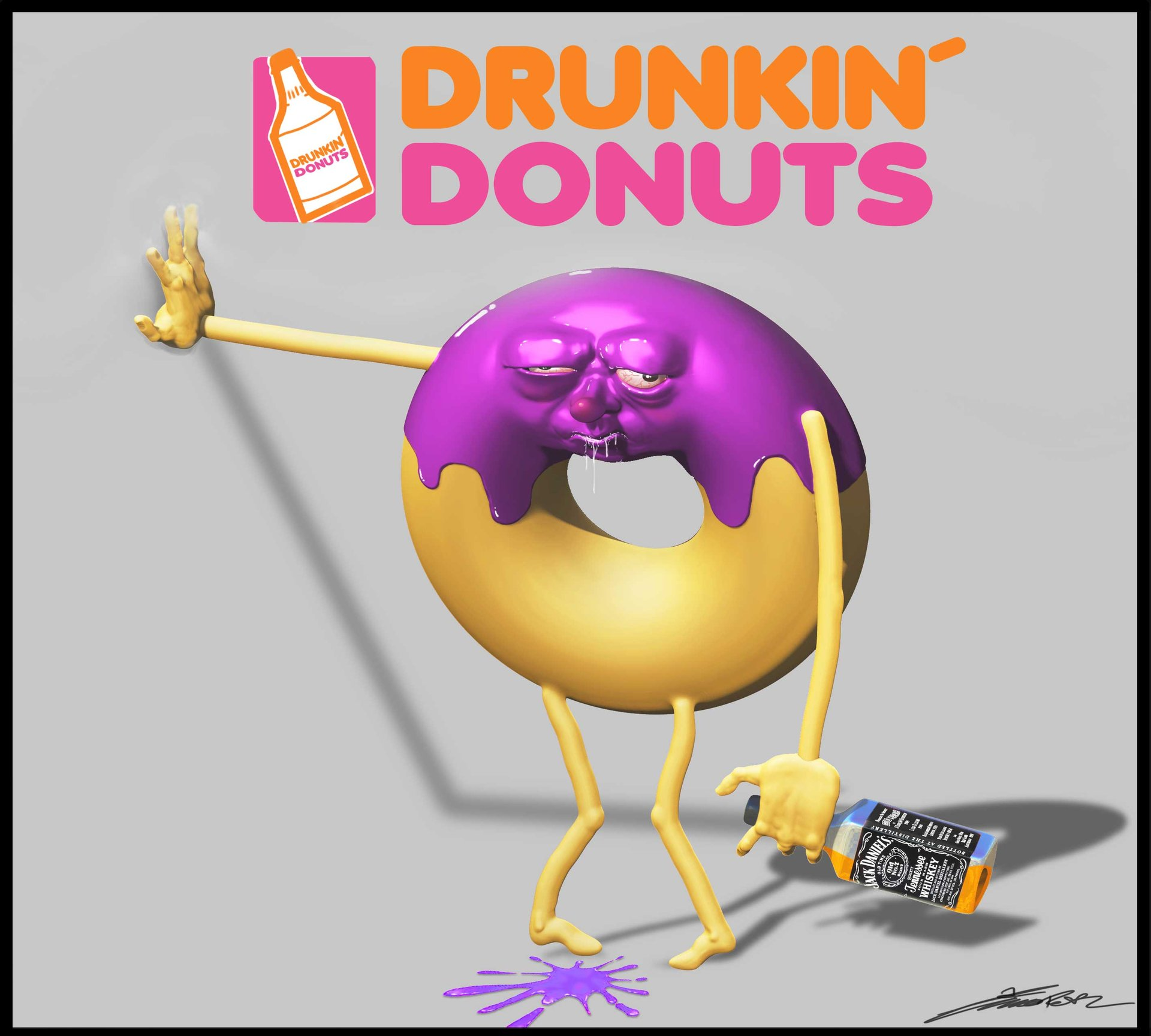 Timo peter drunkin donuts 02