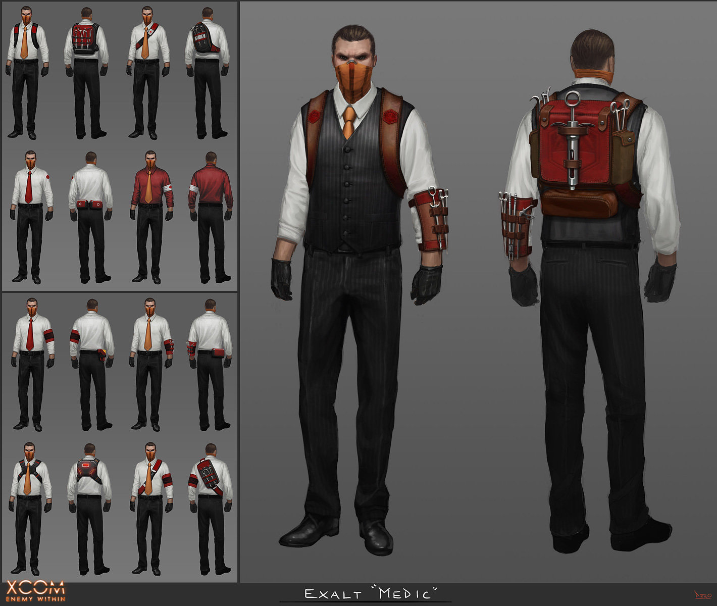 Piero Macgowan Xcom Enemy Within Character Concept Art