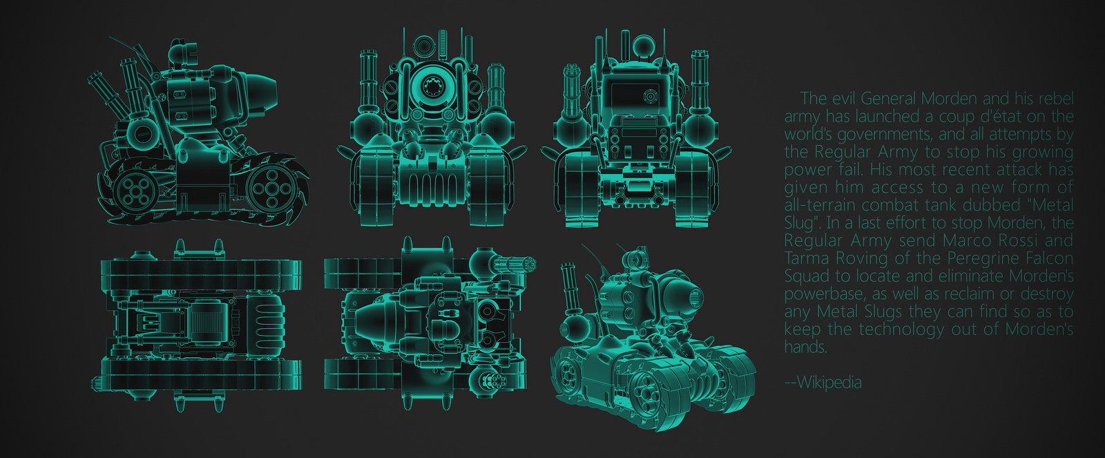 Zhelong xu metal slug3