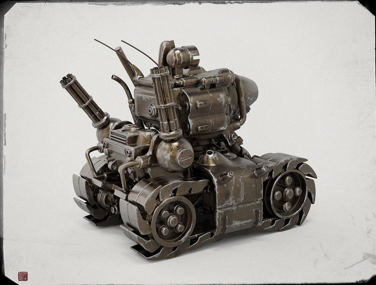 Zhelong xu metal slug2