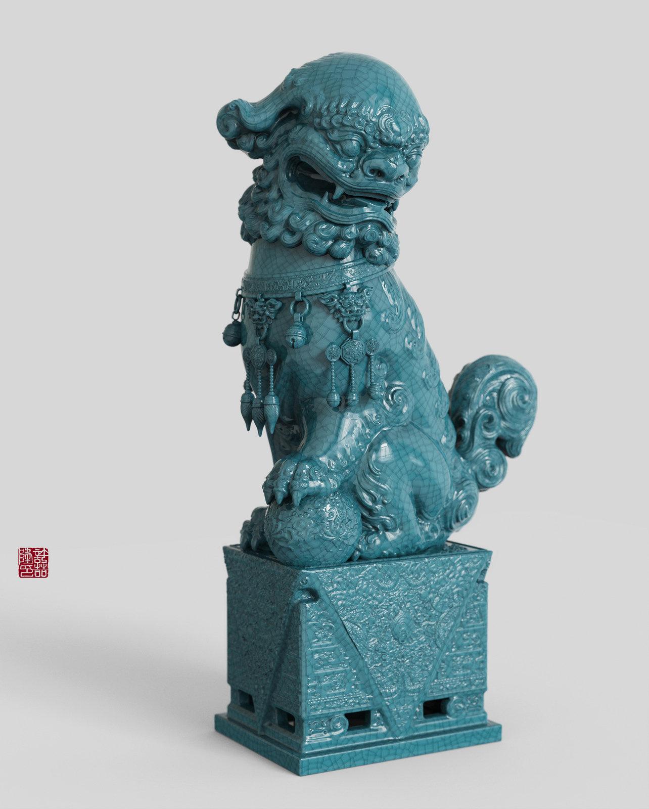 Zhelong xu lion2