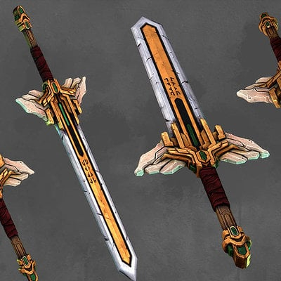 Michael skyers valkyrie great sword by 0skyers0 d6tg60f
