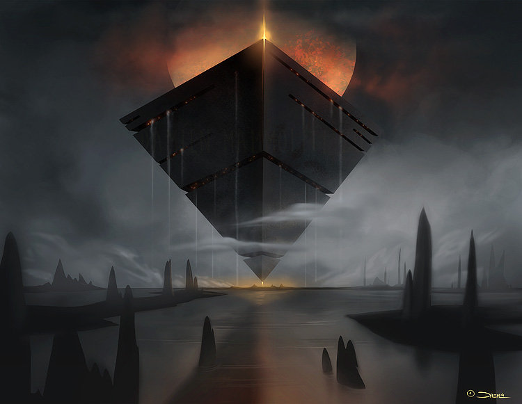 Damien mammoliti obsidius concept