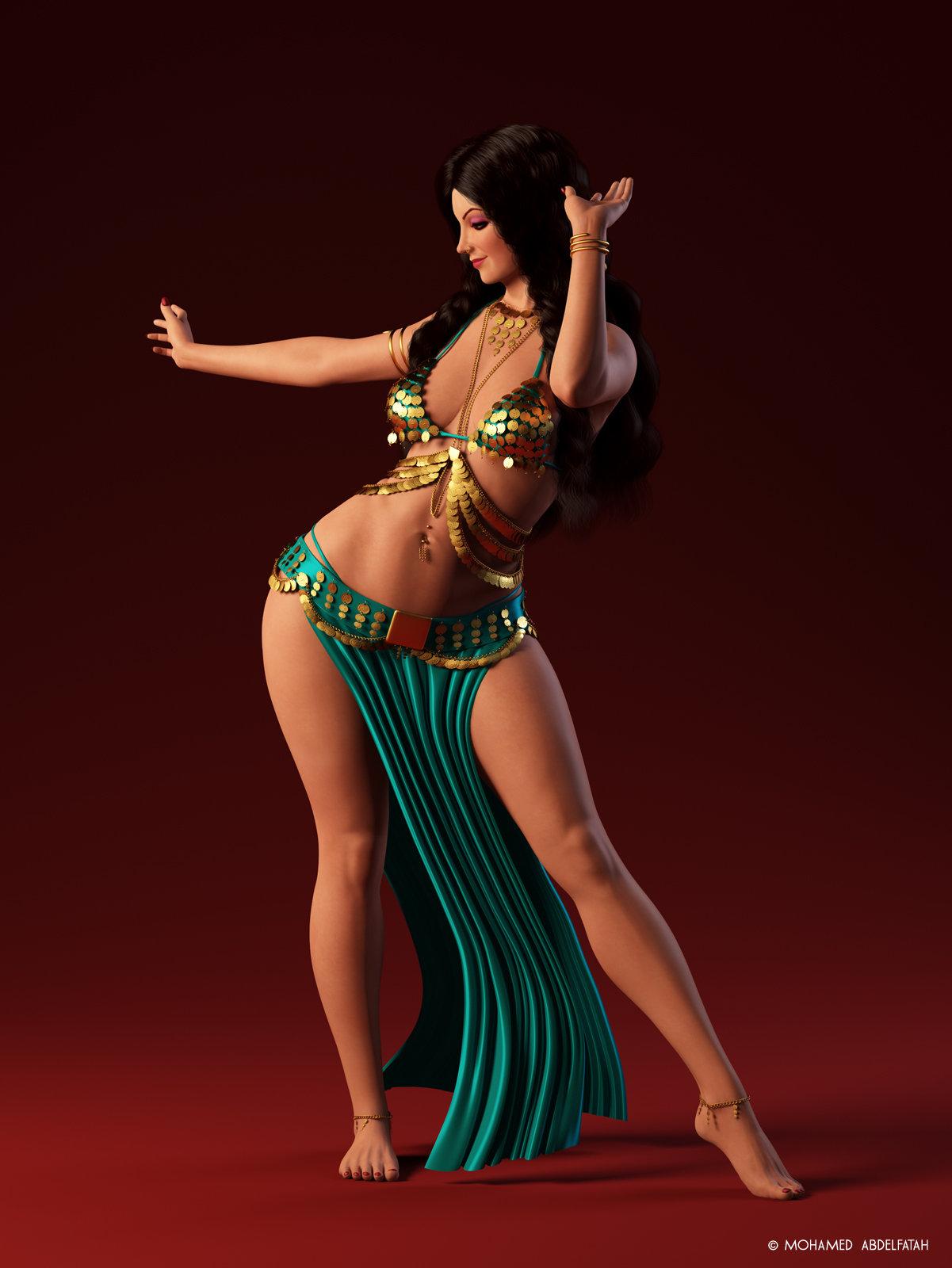 Красивые арабки танцуют стриптиз — 14
