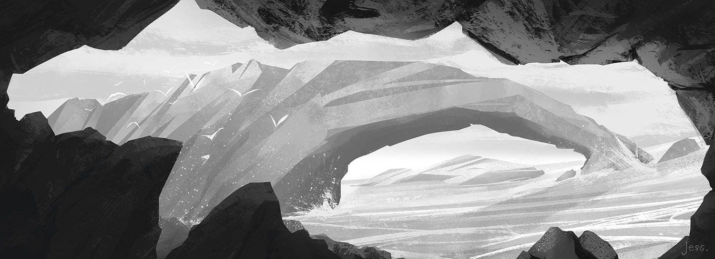 Jessica rossier concept art ocean