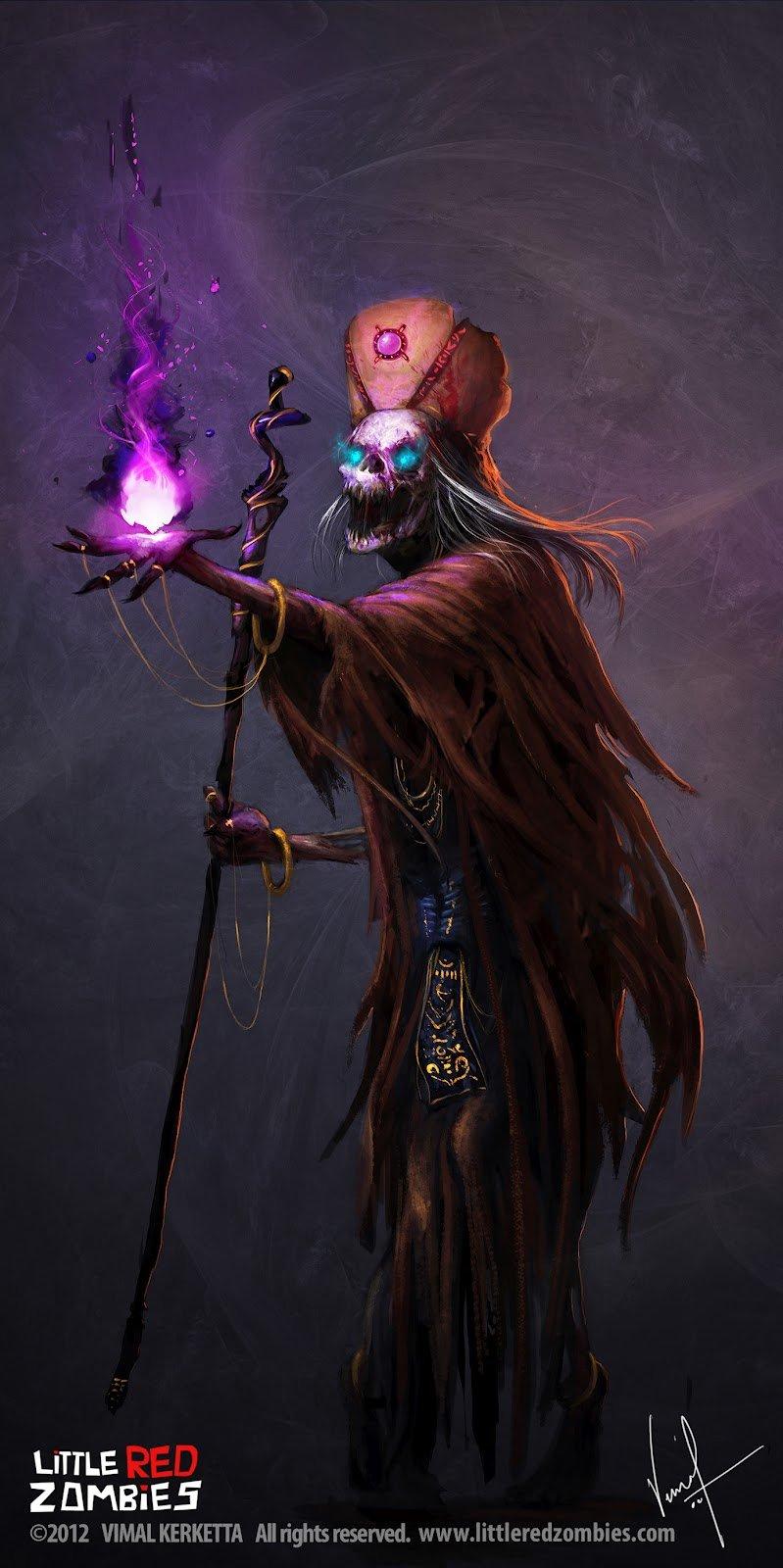 Vimal kerketta priest undead