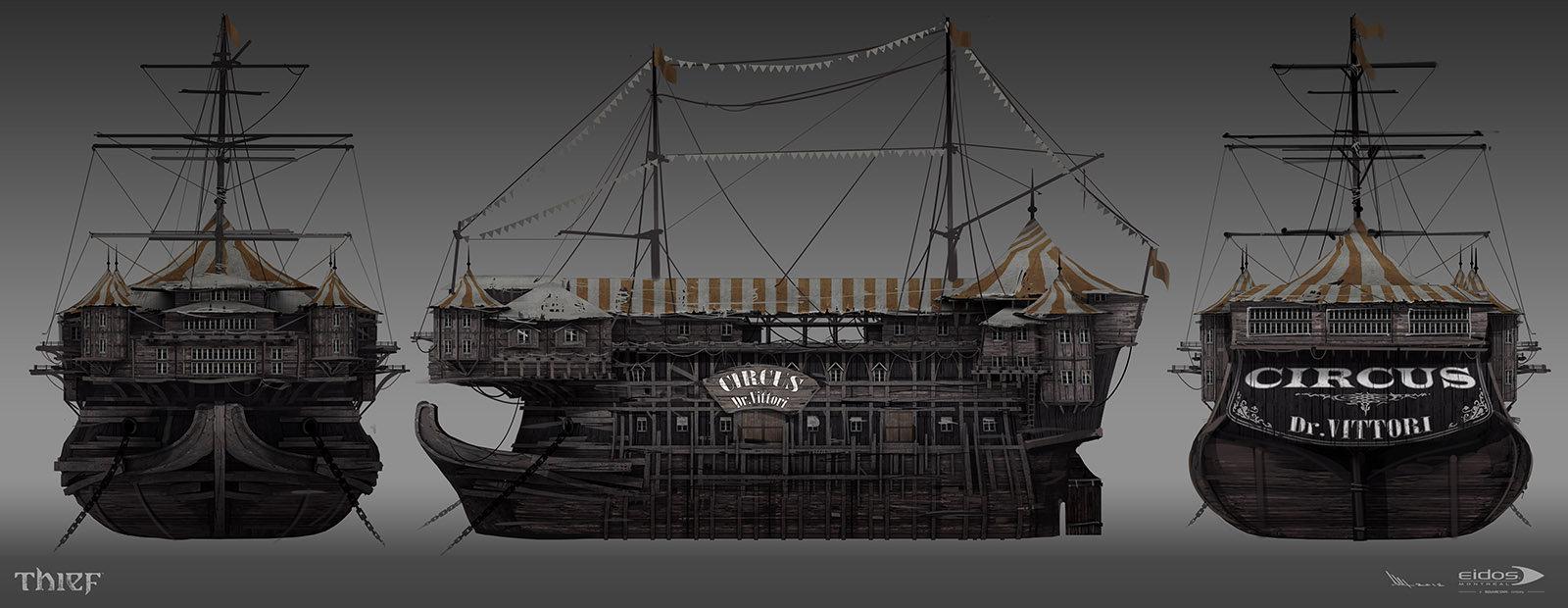 Mathieu latour duhaime vitorri circus model sheet 2012s