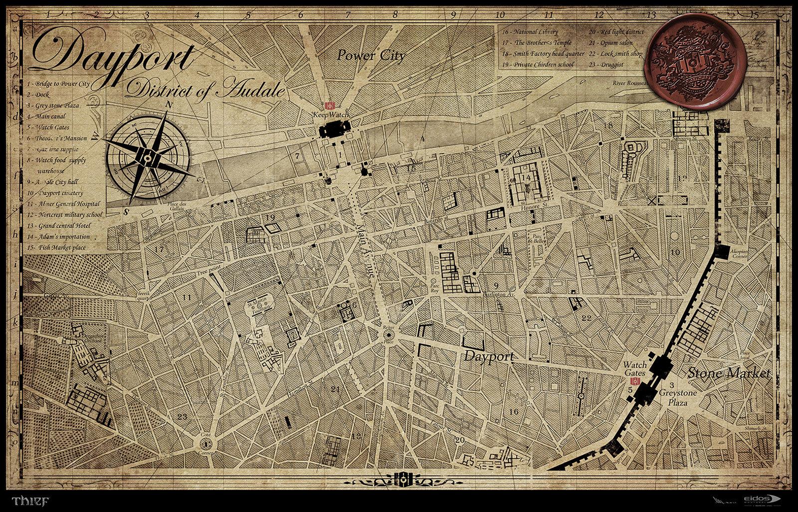 Mathieu latour duhaime the city map 2011s