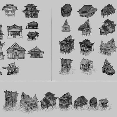 KOBO: Architecture sketches