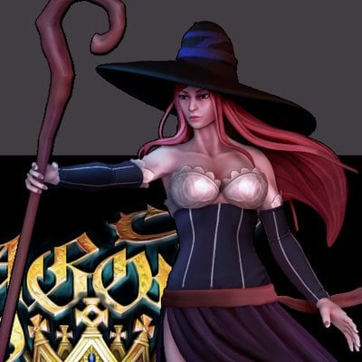 Zhi hao hong sorceress