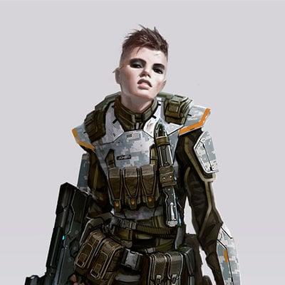 Daryl mandryk femalemarine