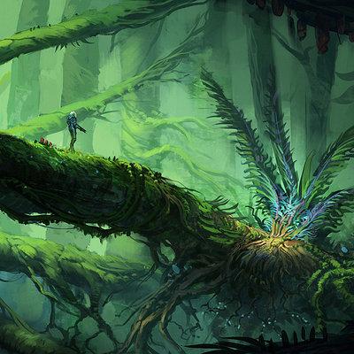 Jorge jacinto alien jungle 1 by jorge jacinto