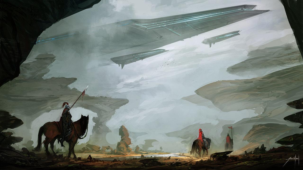 Jorge jacinto medieval aliens by jorgejacinto