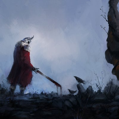 Jorge jacinto blood and crows by jorgejacinto