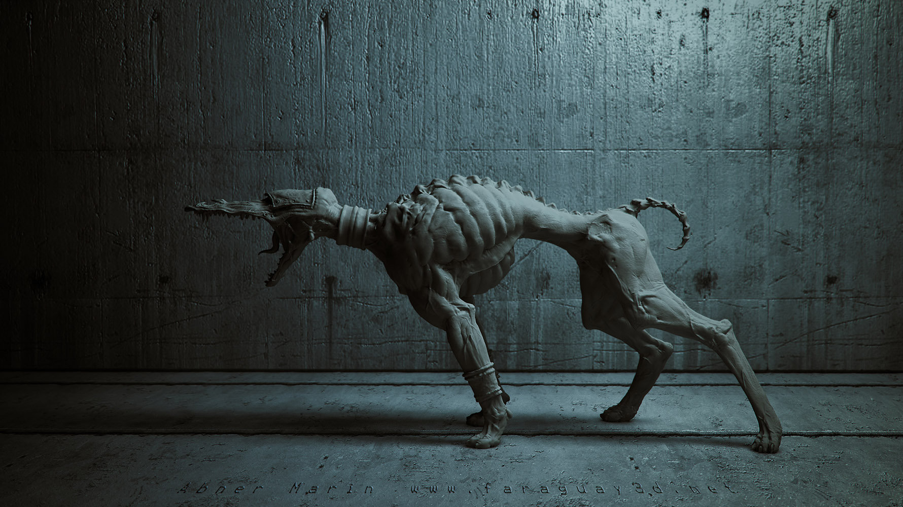 Abner marin faraguay brom dog
