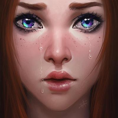 Ayya saparniyazova weeping eyes