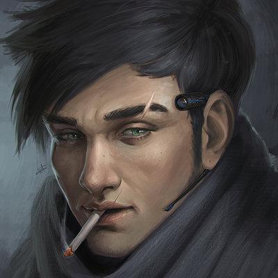 Ayya saparniyazova spy portrait training