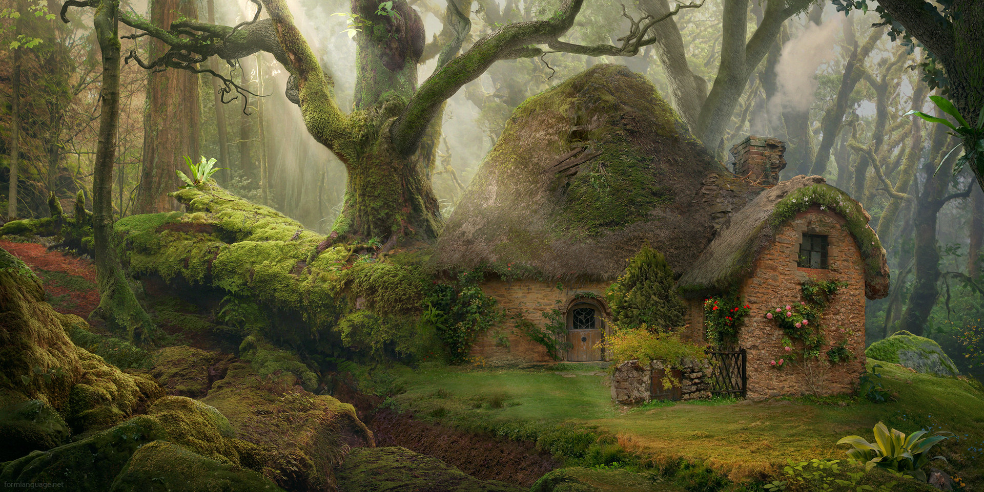 hobbit fantasy forest trees - photo #39