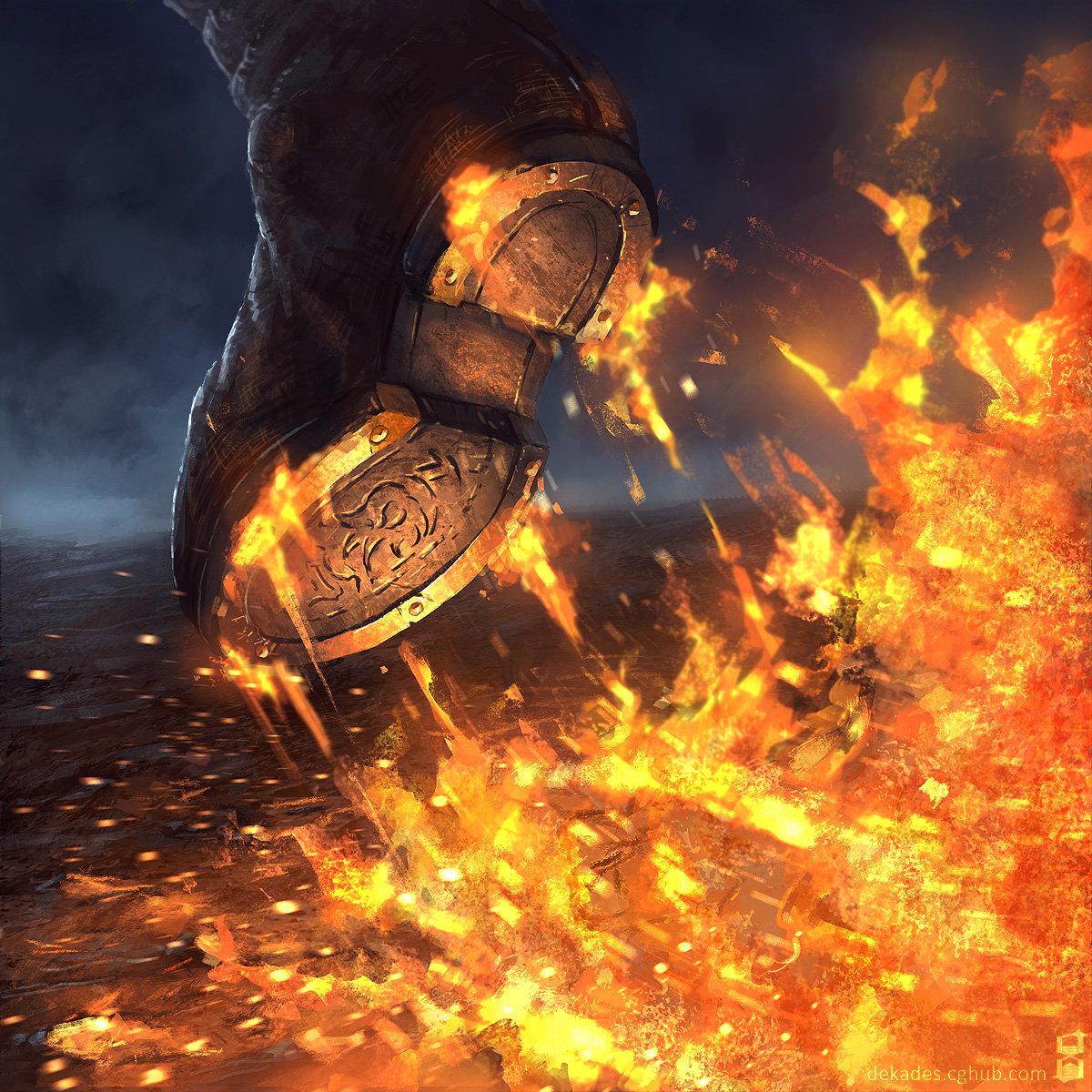 Dmitry desyatov walk of flames jpg