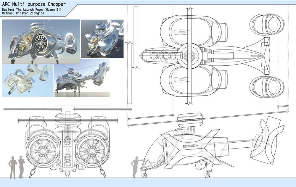 ARC Multi-purpose Chopper Orthos