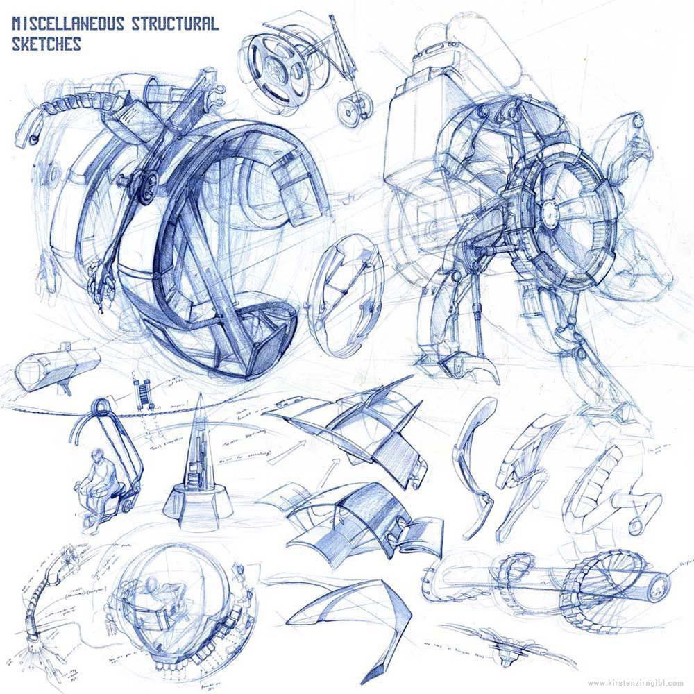 MIscellaneous Structural Sketches