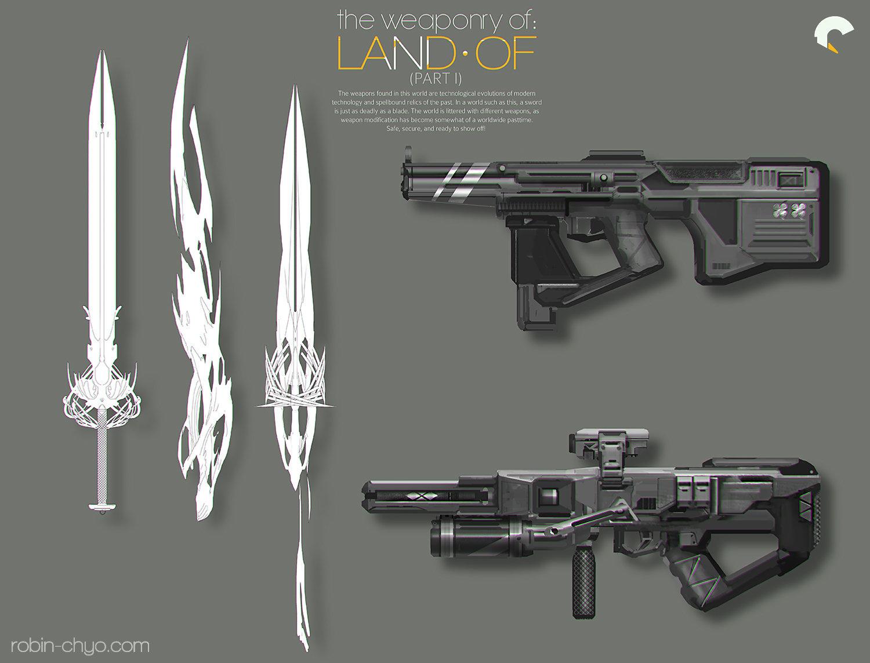 Robin chyo land of weaponry shadows