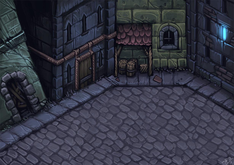Streets of old Aldrheim 01
