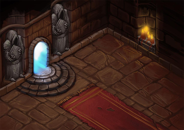 Entry to the Aldrheim Dungeons