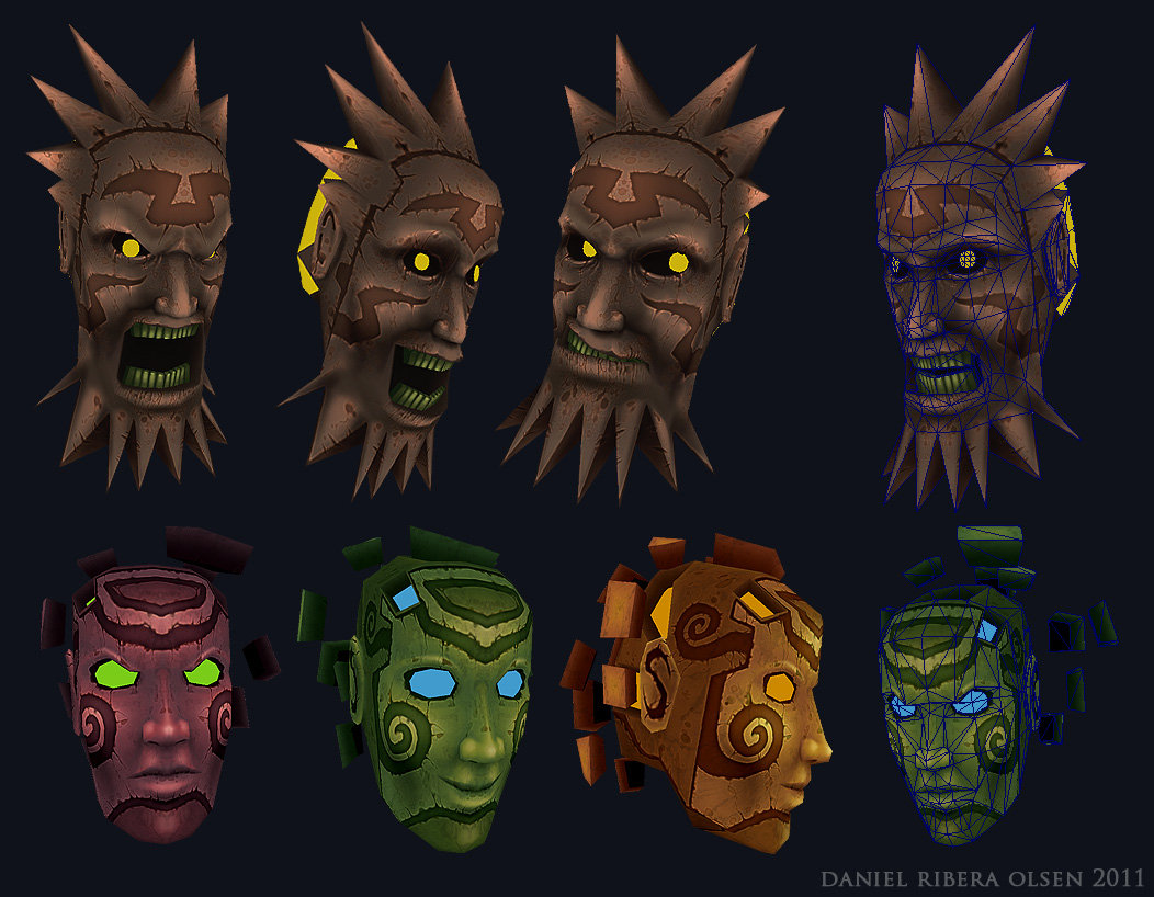 Ingame Monsters, 3D
