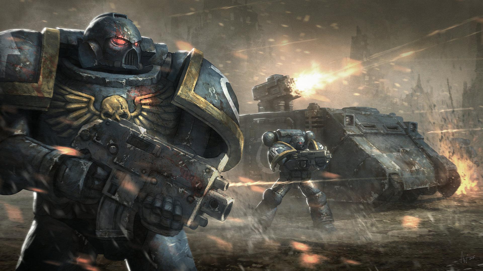 Artstation Warhammer 40k Assault Aidan Wilson