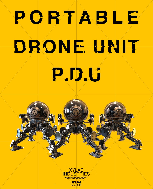 PDU | PORTABLE DRONE UNIT