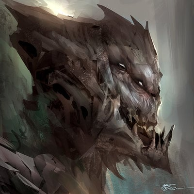 Jeremy chong 28062013 1hour monster sketch