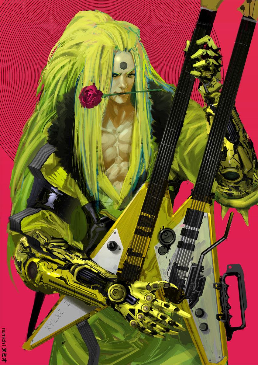 Visual Kei Cyborg Guitarist 2