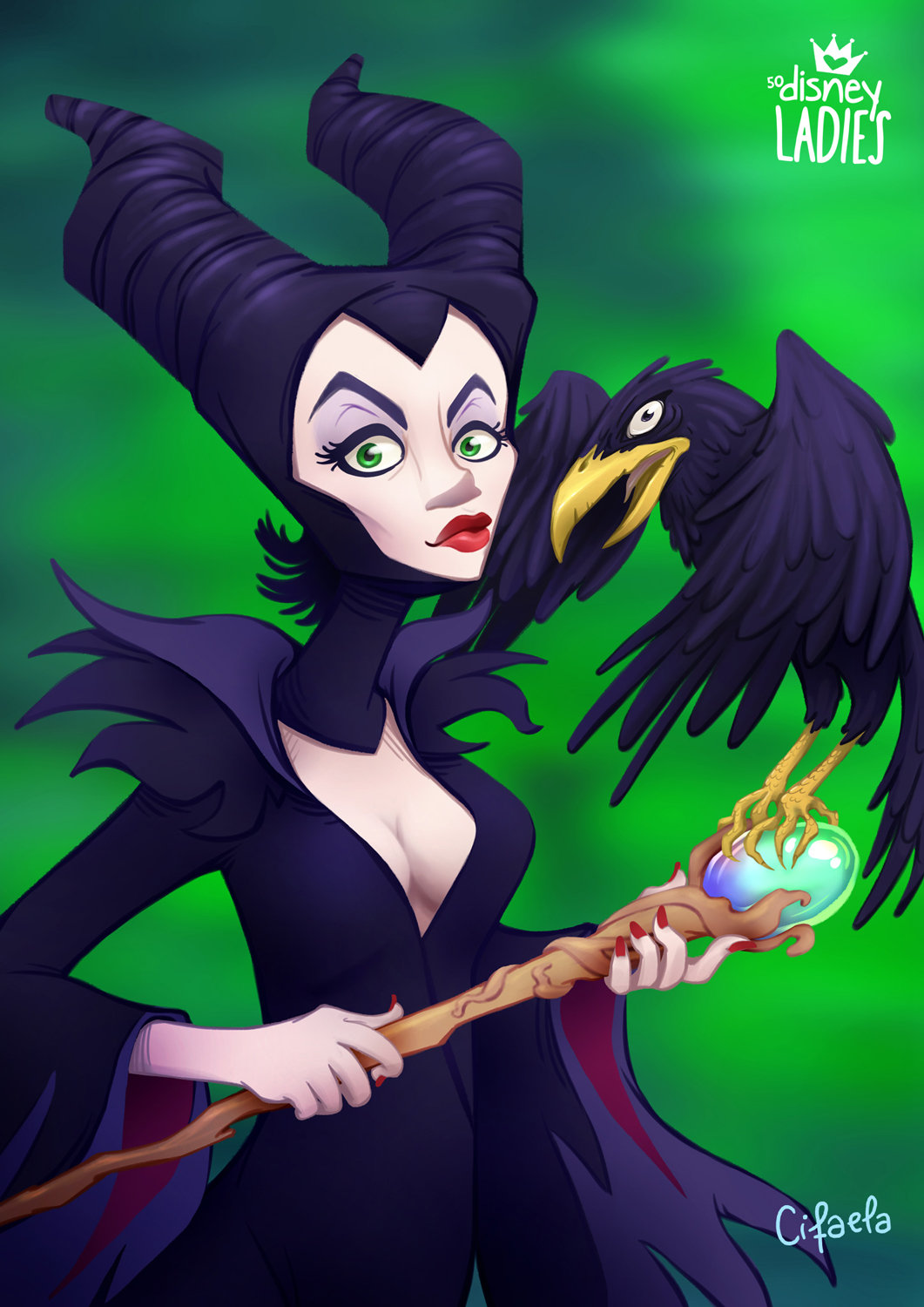 Fabiola monteiro disneyladies maleficent010