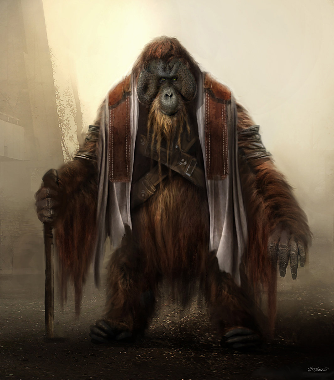 Dawn of the Planet of Apes Design