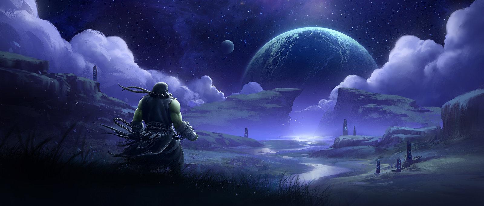 World of Warcraft Draenor Fan Art