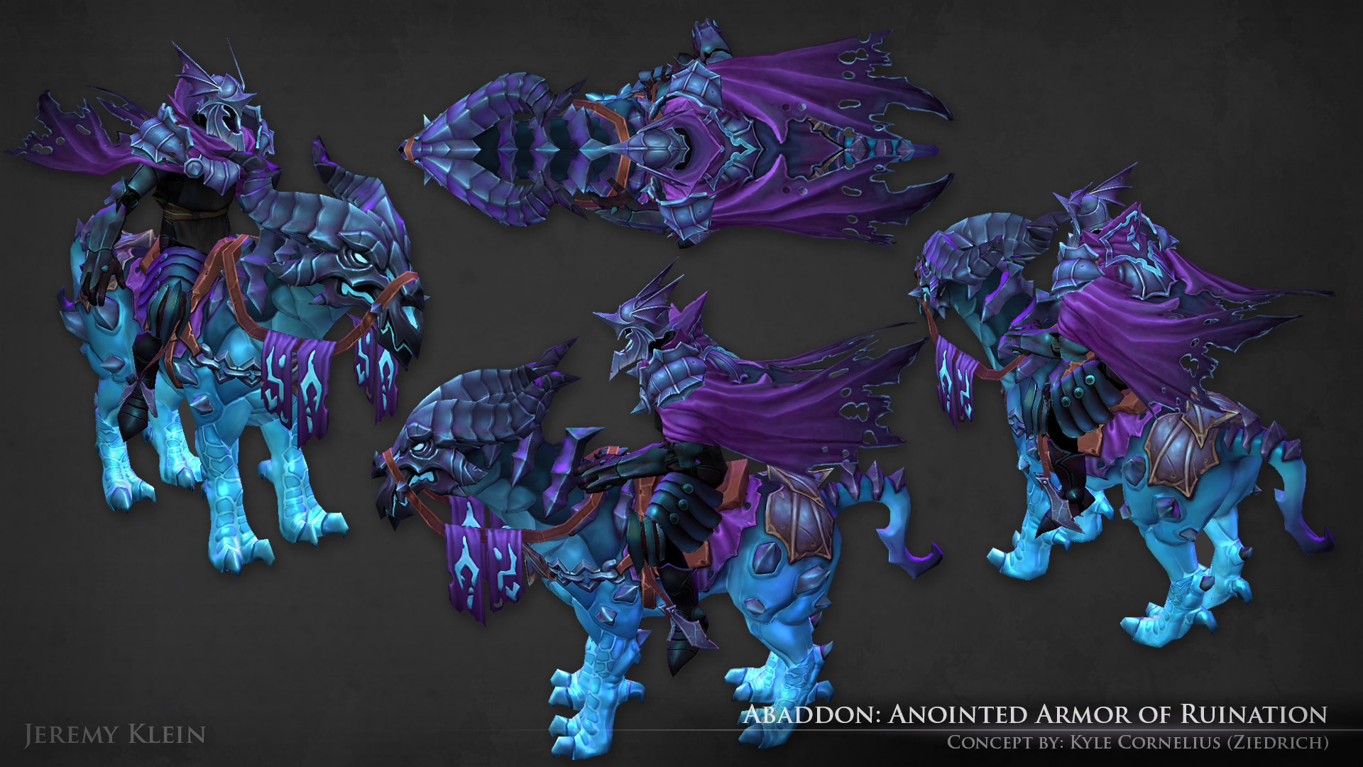 jeremy klein abaddon anointed armor of ruination